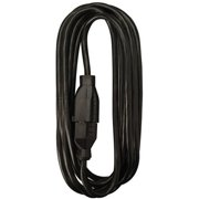 Woods 5601 16/3 25-Foot SJTW Indoor Office Extension Cord, Perfect for Home or Office, Black, UL Listed