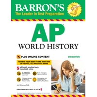 Barron's Test Prep: AP World History: With Online Tests (Paperback)