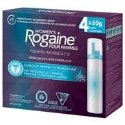 Rogaine 5% Mousse Minoxidil Femme - 4 x 60g