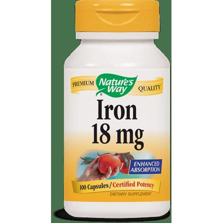Nature's Way Iron Capsules, 100 - Why Iron