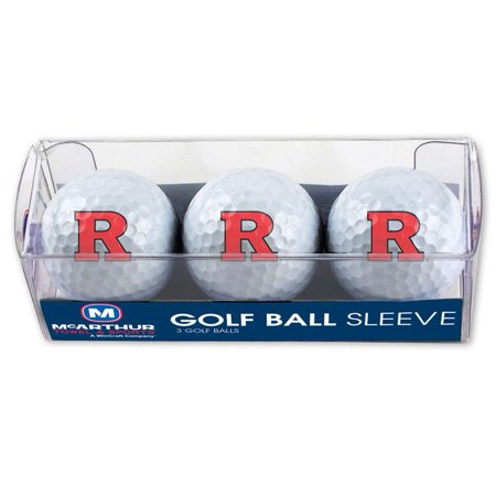 WinCraft Rutgers Scarlet Knights Golf Balls, 3 Pack