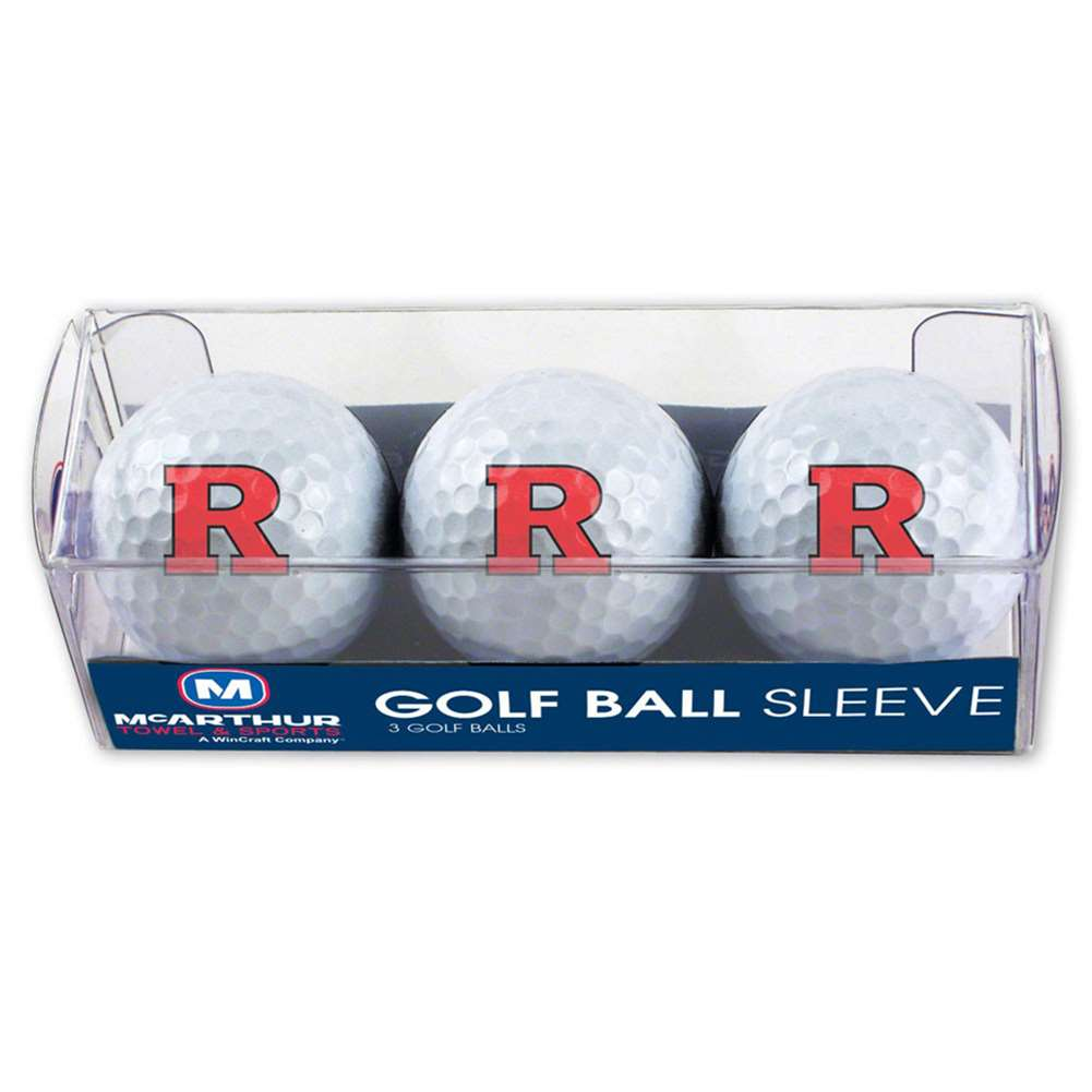 Rutgers Scarlet Knights Golf Balls - 3 Pack