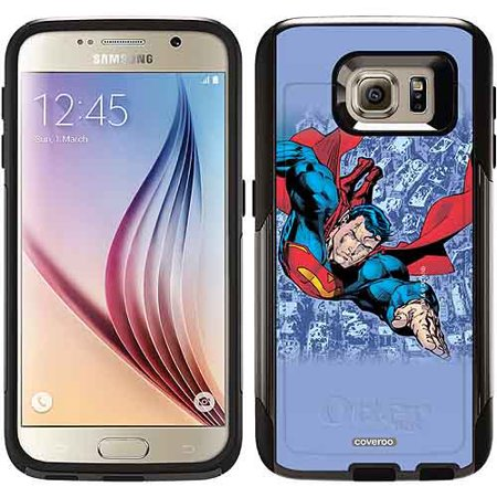 Superman City Background Design on OtterBox Commuter Series Case for Samsung Galaxy S6
