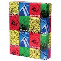 Mohawk Color Copy Gloss 8.5 x 11 Pure White Paper 96-bright 80lb Text 500/Ream (36-201)