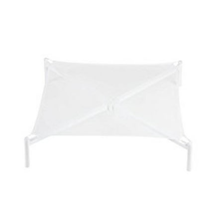 Honey Can Do Foldable Sweater Drying Rack with Removable Mesh Shelf, White