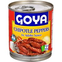 Goya Chipotle Peppers Chiles in Adobo Sauce, 7 oz