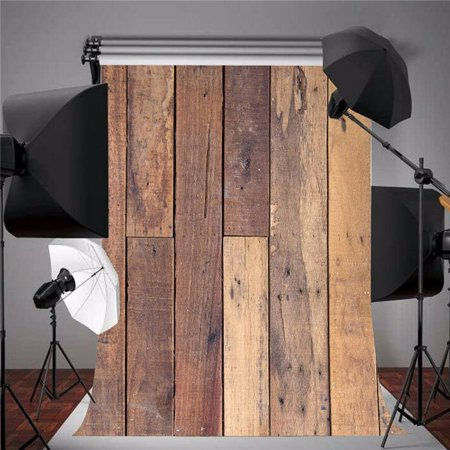 5x7ft Wood Wall Floor Vinyl Theme Backdrops Photography Photo Props Backgrounds - Safari Themed Backdrop