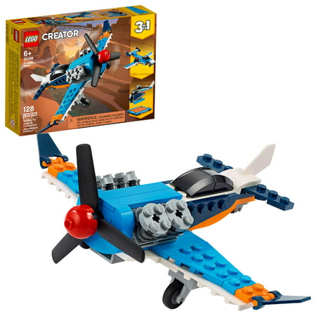 LEGO Creator 3-in-1 Propeller Plane Building Kit 31099