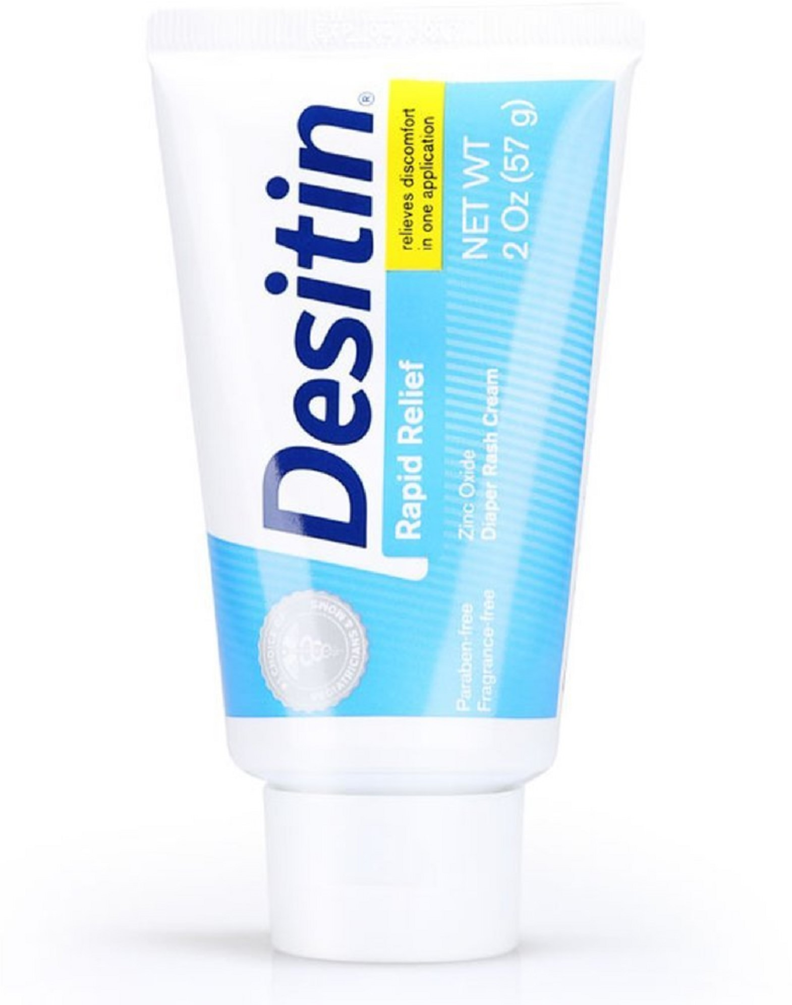 3 Pack DESITIN Rapid Relief Diaper Rash Creamy Ointment 2 oz by Desitin