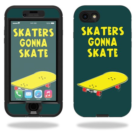 Skin For Lifeproof Nuud iPhone 7 Case – Skaters Gonna Skate | MightySkins Protective, Durable, and Unique Vinyl Decal wrap cover | Easy To Apply, Remove, and Change Styles | (Skate Case)