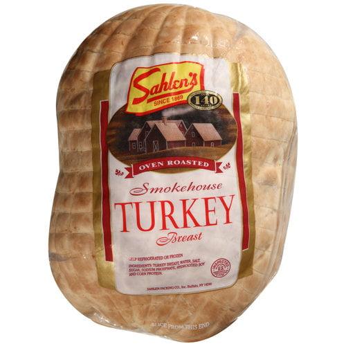 Sahlen's Oven Roasted Smokehouse Turkey Breast, Deli Sliced