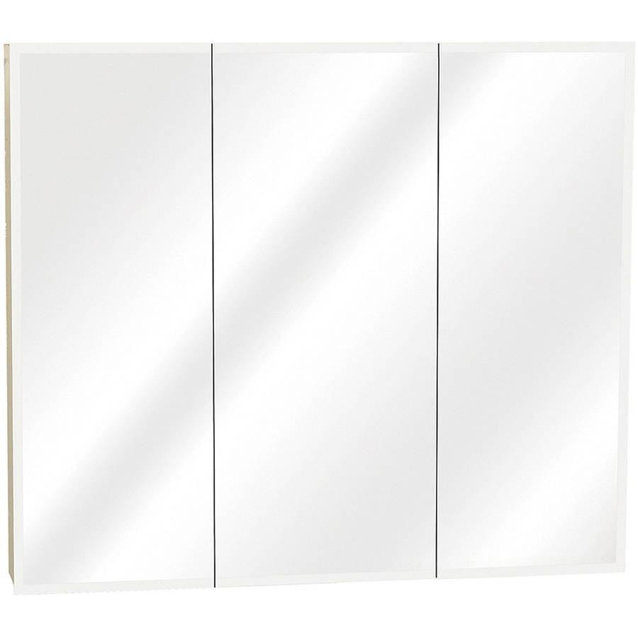 . Zenith M30 White Tri View Mirror Medicine Cabinet   Walmart com