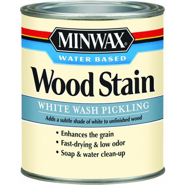 Minwax 1 Quart White Wash Pickling Stain Wood