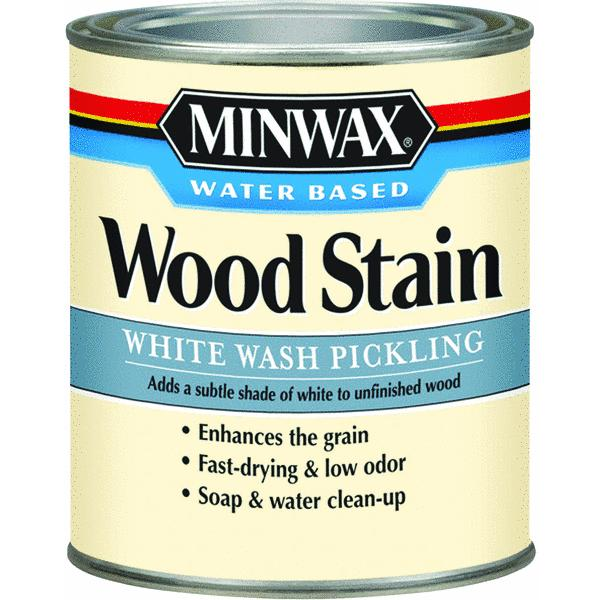 Minwax 1 Quart White Wash Pickling Stain Wood