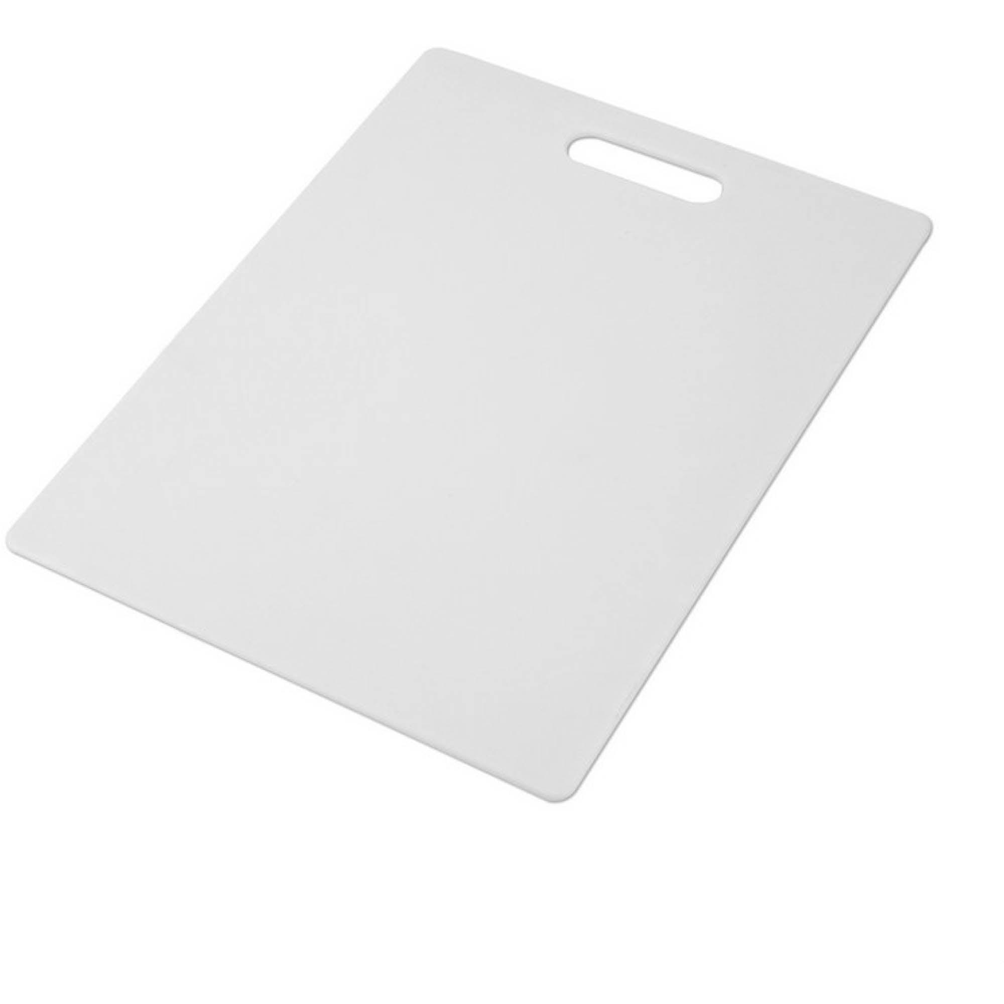 Farberware 11 inch By 14 inch White Poly Cutting Board