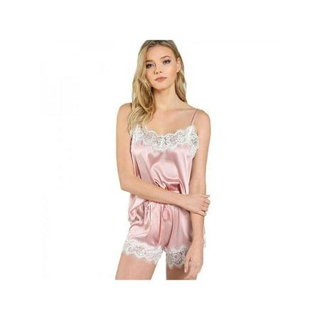 329c8074aab50 Topumt - Topumt 2Pcs Women Lingerie Sleepwear Lace Nightwear Pajamas Sets -  Walmart.com