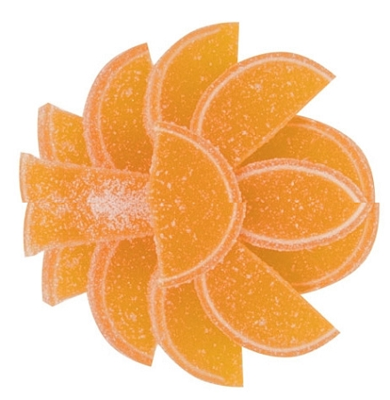 Orange Fruit Slices, 5 Pounds