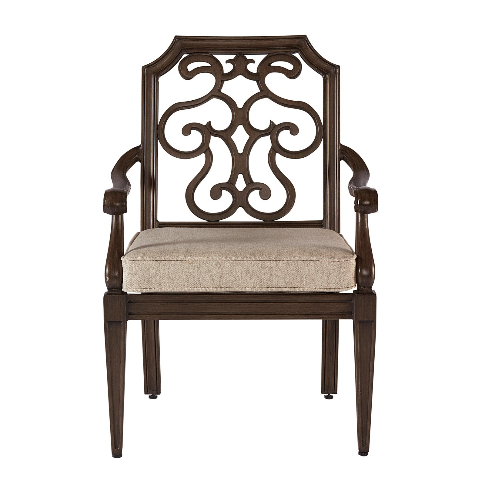 A.R.T. Furniture Arch Salvage Outdoor Gabrielle Dining Arm Chair - Set of 2