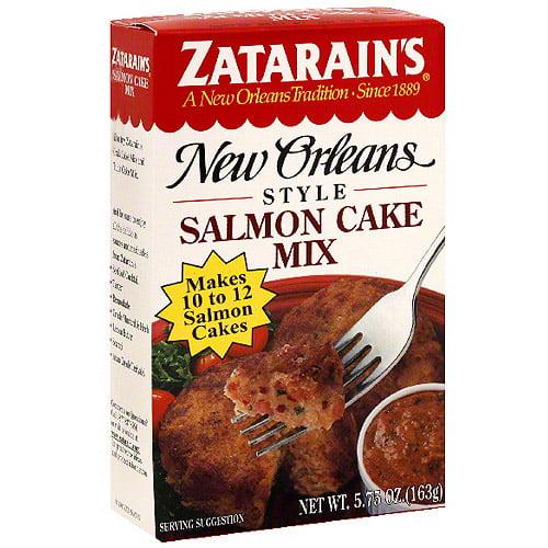 Zatarain's Salmon Cake Mix, 5.75 oz (Pack of 12)