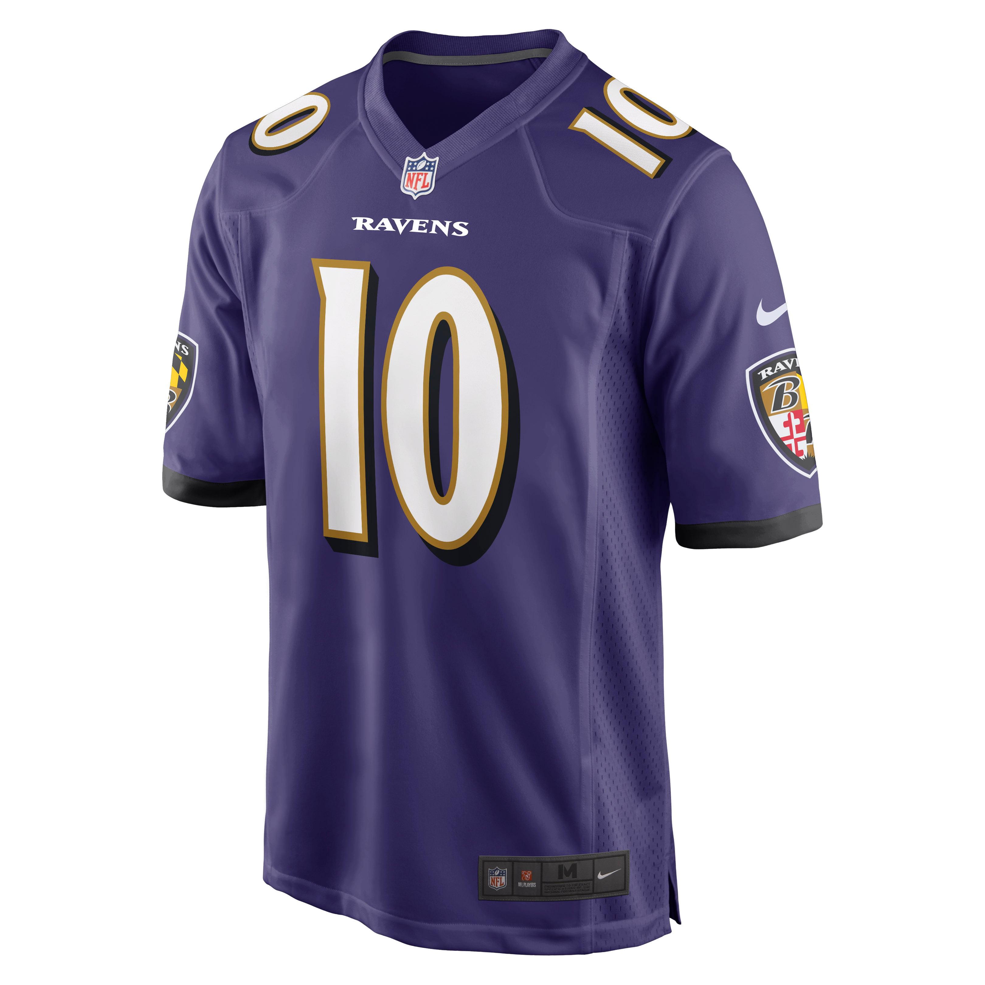 Chris Moore Baltimore Ravens Nike Game Jersey - Purple