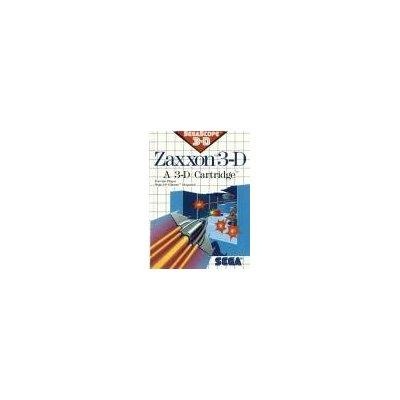 Zaxxon 3-D Sega Master System by