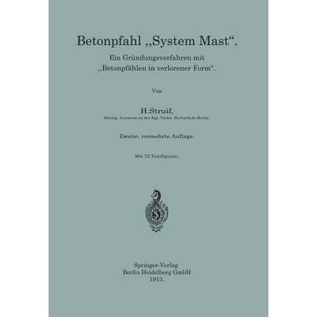 Mast Systems - Betonpfahl