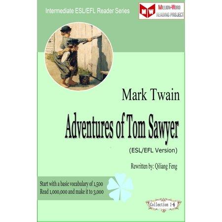 Adventures of Tom Sawyer (ESL/EFL Version) - eBook - Talking Tom On Halloween Version