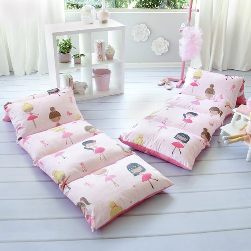Zoomie Kids Homedale Ballerina Themed Pillow Cover