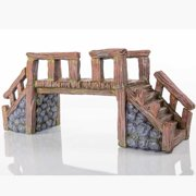 "BioBubble Decorative Wood Bridge, Large, 16"" x 5.25"" x 7"""