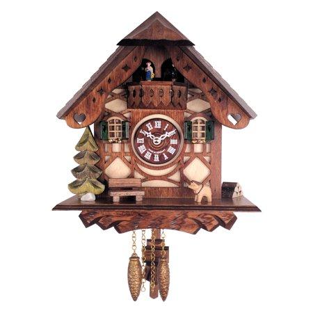 City Novelties (River City Clocks Novelty Cuckoo Clock with)
