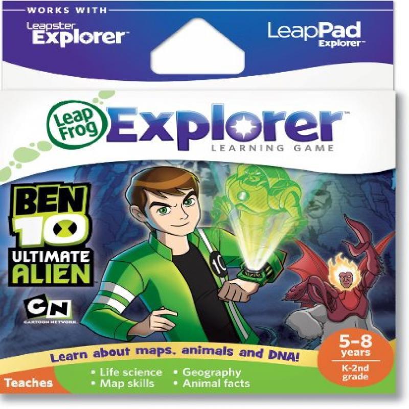 LeapFrog Explorer & LeapPad Learning Game: Ben 10