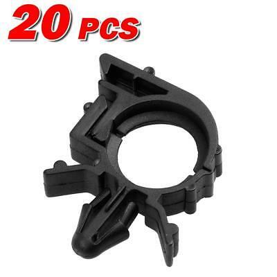 20x Nylon Wire Loom Routing Split Conduit Clips Rivet Retainer for GM Universal