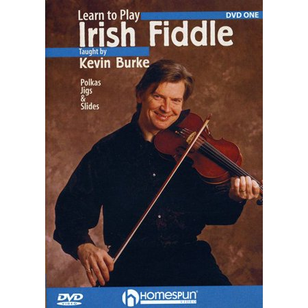 Learn to Play Irish Fiddle: Volume 1: Polkas, Jigs and Slides (DVD)