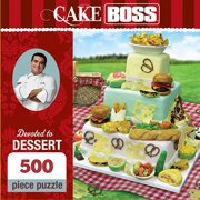 Cake Boss Devoted to Dessert 500 Piece Puzzle,  Dessert by Masterpieces Puzzle Co.