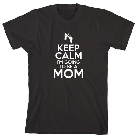 Keep Calm I'm Going To Be A Mommy Men's Shirt - ID: 2063