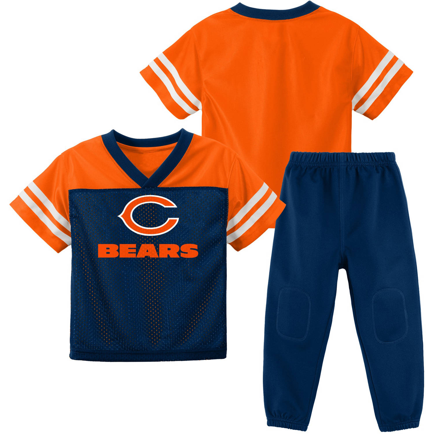 NFL Chicago Bears Toddler Short Sleeve Top and Pant Set by
