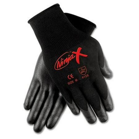 Crews N9674M Ninja X Bi-Polymer Coated Gloves  Medium  Black - image 1 of 1