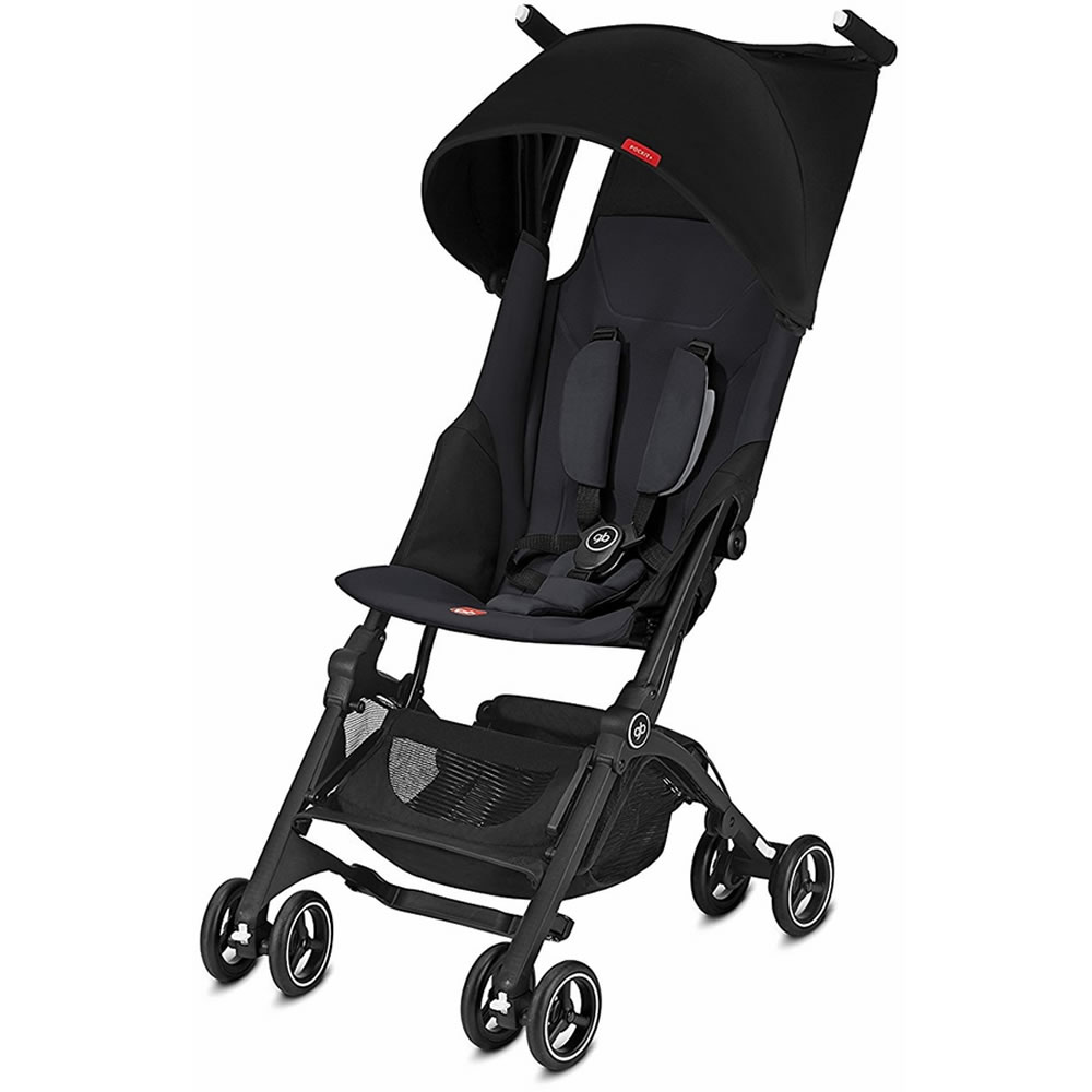 gb Pockit + Lightweight Stroller, Satin Black by GB