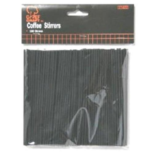 Bulk Buys Coffee Stirrer Straws - Case of 24