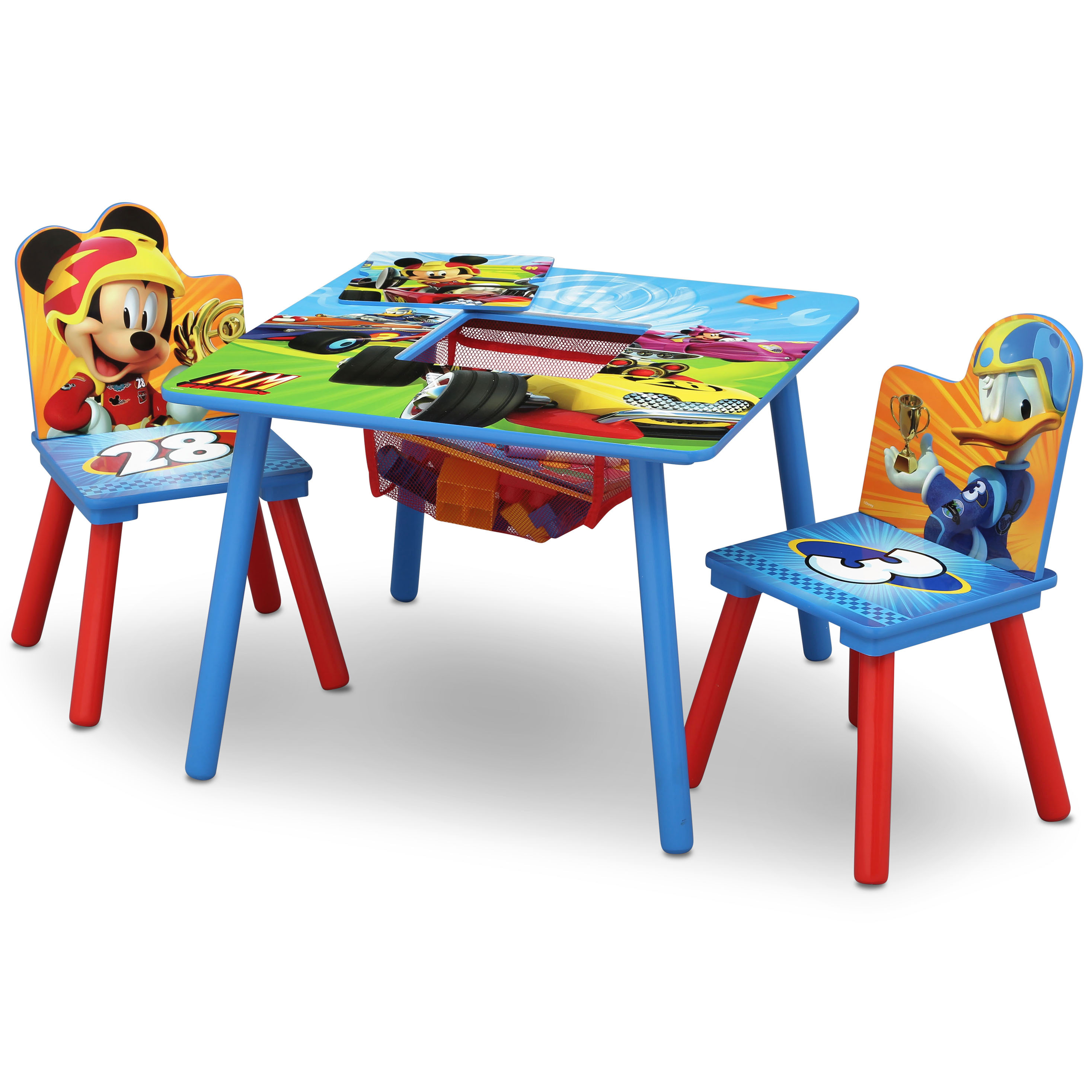 Disney Mickey Mouse Table & Chair Set with Storage