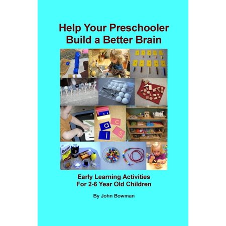 Help Your Preschooler Build a Better Brain : Early Learning Activities for 2-6 Year Old Children - Halloween Early Years Activities