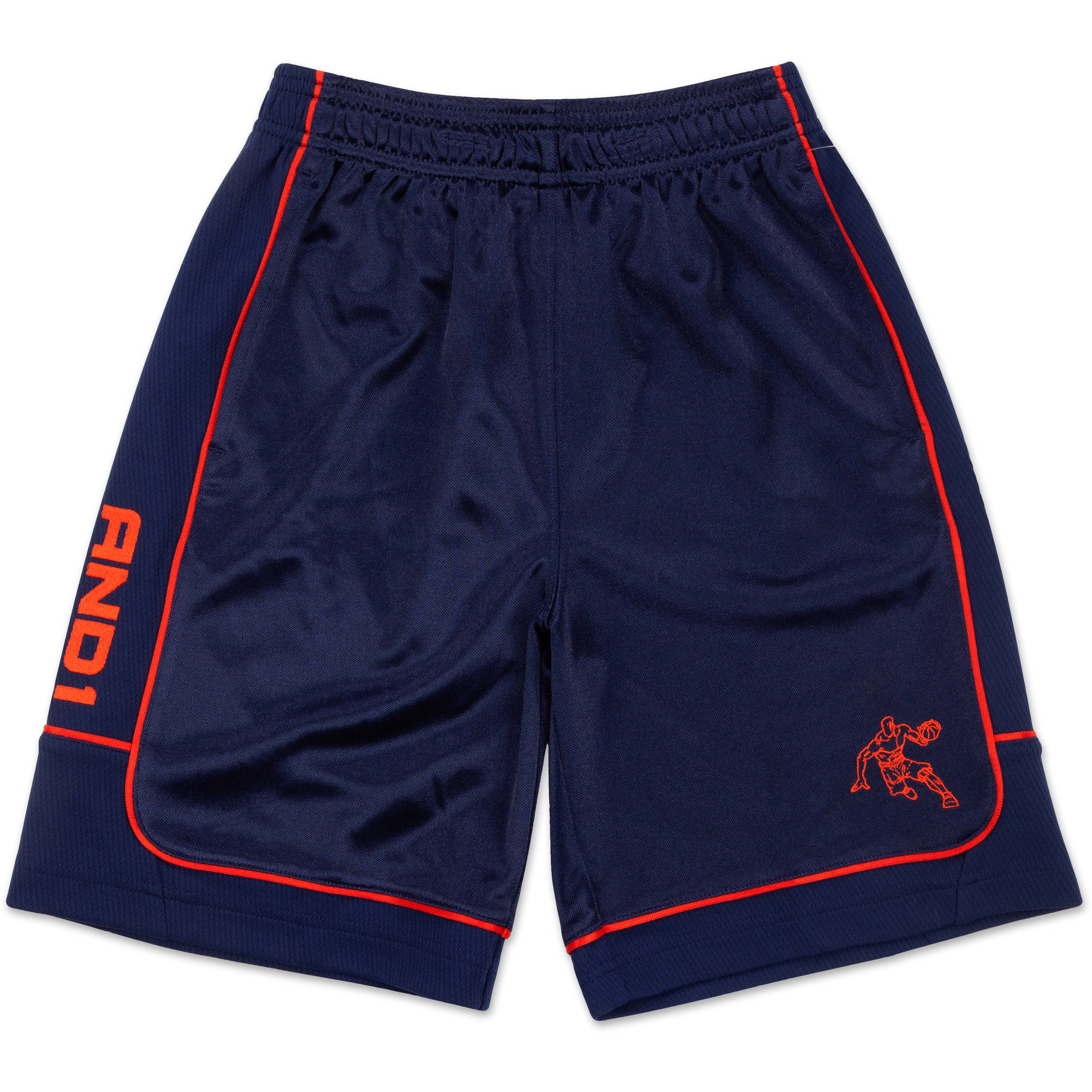 AND1 Boys All Courts Color Blocked Game Short