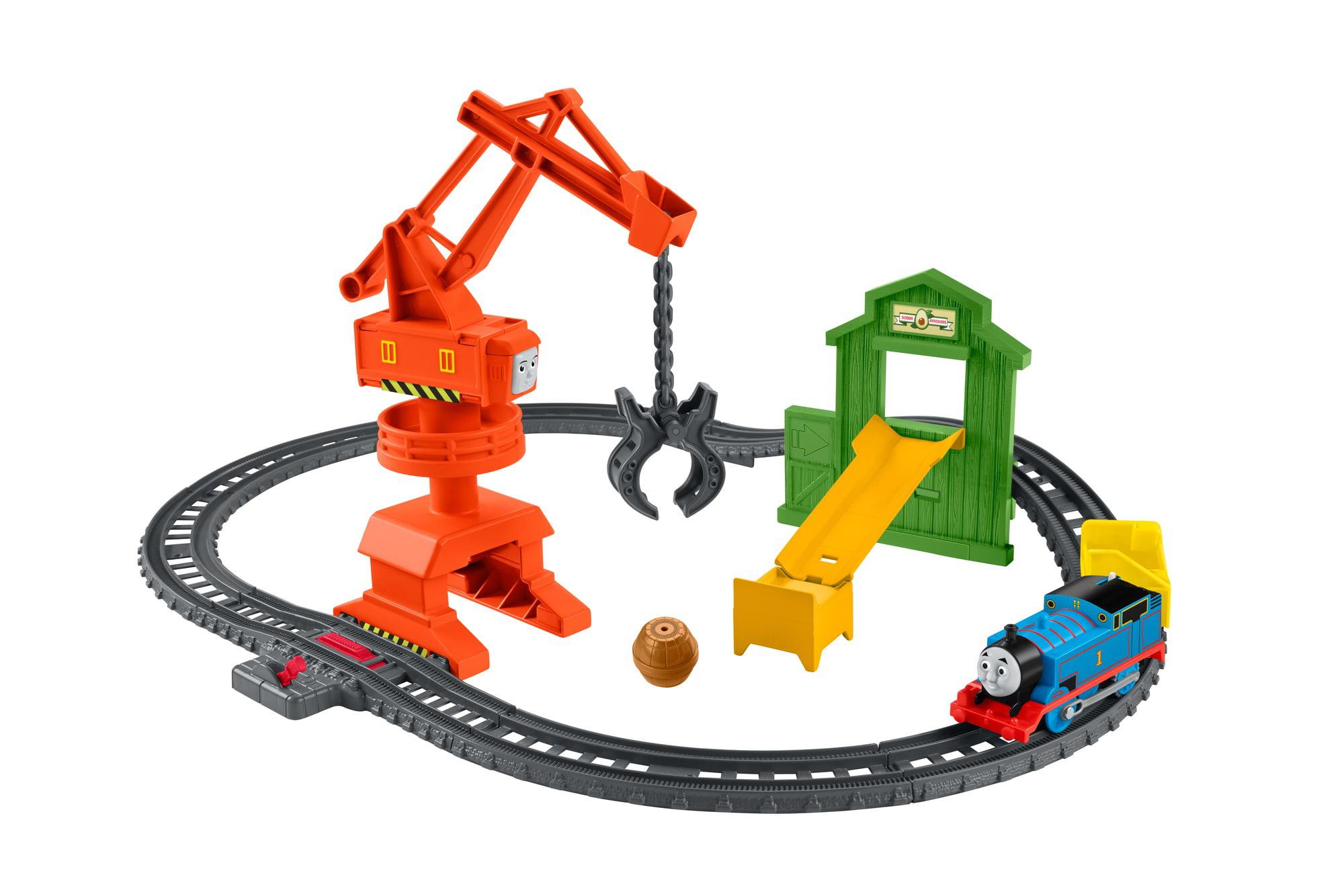 Thomas & Friends TrackMaster Cassia Crane & Cargo Set