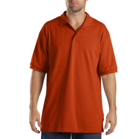 Dickies KS5552OR Boys M Or Short Sleeve Adult Sized Polo Unisex Xxl