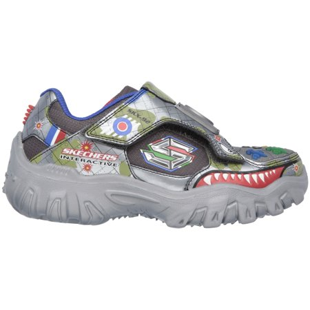Skechers Kids' Preschool Damager III Game Kicks 2 Running (Boys Preschool Nike Revolution 3 Running Shoes)