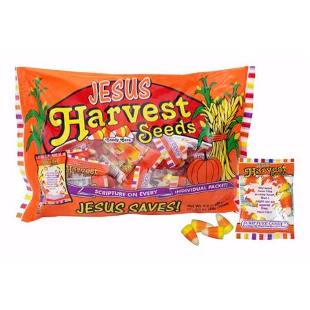 Scripture Candy 115088 Candy Scripture Harvest Seeds Candy Corn - Kandy Korn