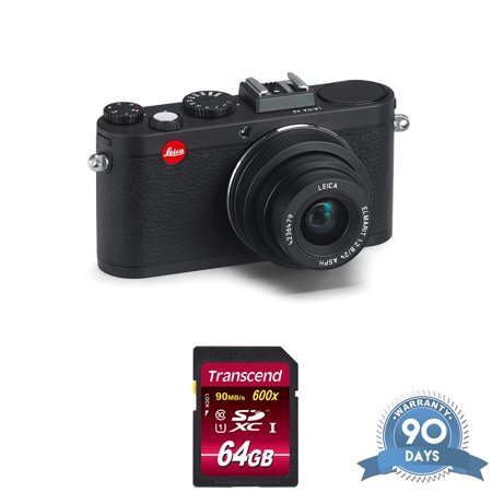Leica X2 Digital Compact Camera w/ Elmarit 24mm f/2.8 ASPH Lens Black - RENEWED