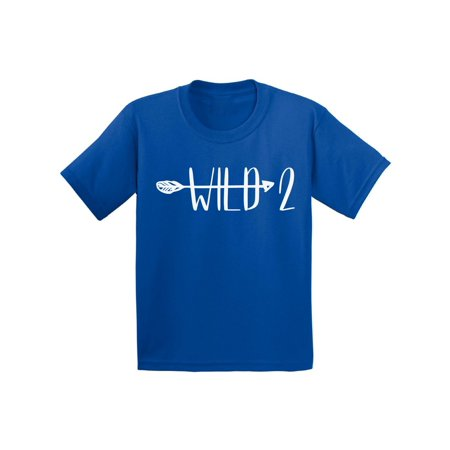 Awkward Styles Kid Party Holiday Shirts 2nd Birthday Arrow Party Second Birthday Party Baby Clothes Birthday Gifts for 2 Year Old Second B Day Gift for 2 Year Old 2nd Birthday Infant Shirt for Kids](Gift For Two Year Old)