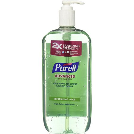 Gojo Purell Hand Sanitizer, 33.8 oz - Halloween Hand Sanitizer Holder