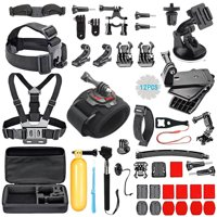 Tagital 51 In 1 Camera Accessories Kit for GoPro Hero 5 / Session 5 4 3 2 1 Bundle Camera Outdoor Sports Set Kit